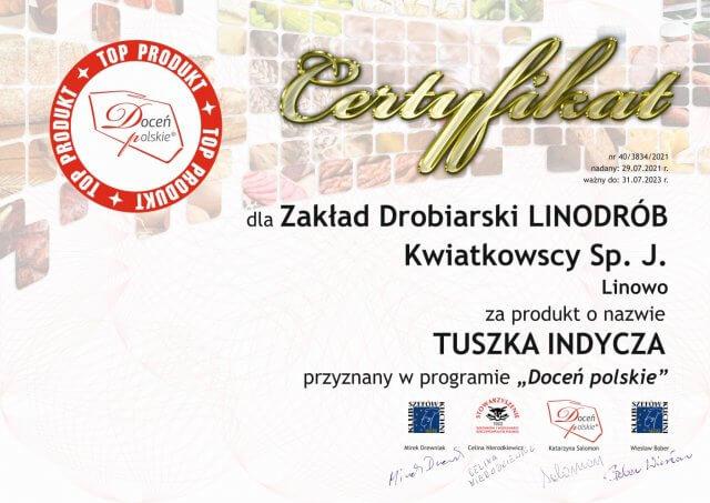 "Top Produkt programu ""Doceń polskie"""